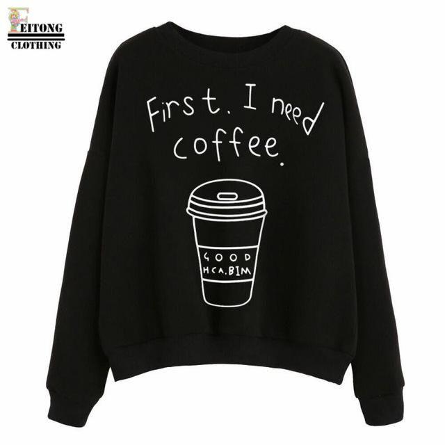 First I need Coffee Sweater