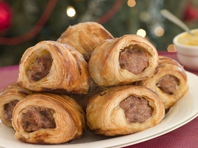 English Sausage Rolls, loved these when I was a kid visiting family in Scotland
