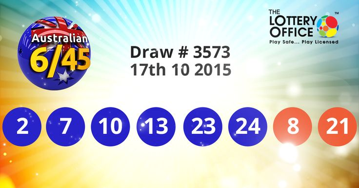 Australian Saturday Lotto winning numbers result is here: #LotteryResults #LotteryOffice