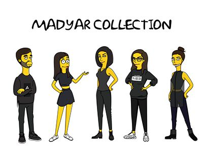 """Check out new work on my @Behance portfolio: """"Madyar Collection as The Simpsons"""" http://be.net/gallery/34350177/Madyar-Collection-as-The-Simpsons"""