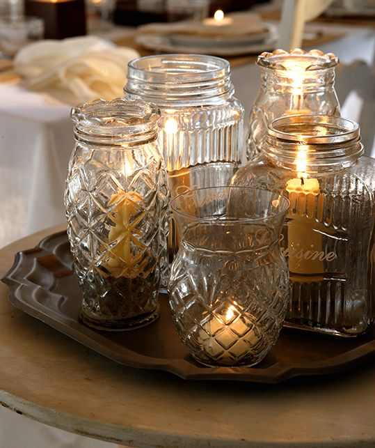 Velas decorativas - Recipientes de vidro - Revista Westwing