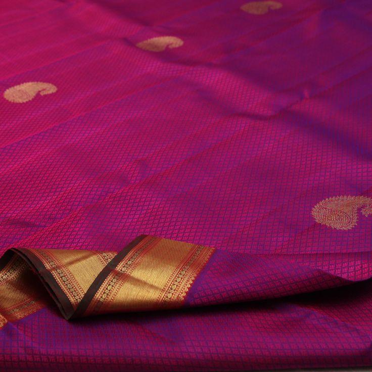 Sarangi Handwoven Kanjivaram Silk Saree - 650126845 from Sarangi * Feel Beautiful