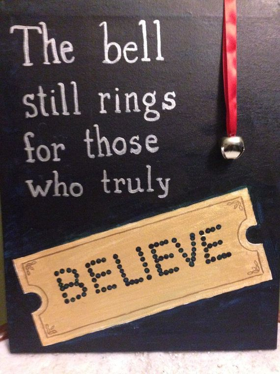 Polar Express Believe Quote | Polar express christmas party ...