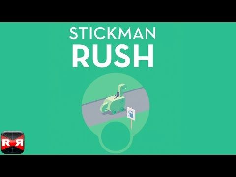 Stickman Rush (By Ketchapp) - iOS - iPhone/iPad/iPod Touch Gameplay - YouTube