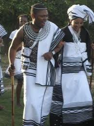 Xhosa wedding attire
