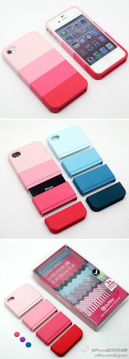ombre phone case to match my ombre hair? :) blue of course Cell Phone, Cases & Covers - http://amzn.to/2iezkJl