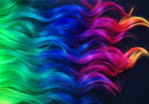 Rainbow ombre hair | Flickr - Photo Sharing!