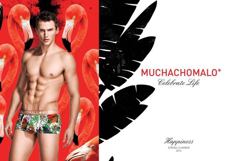 Dawid Schaffranke Model Underwear Muchachomalos terbaru Styles dalam gambar Kampanye Spring / Summer 2014 mereka muchachomalo foto kampanye pakaian 003