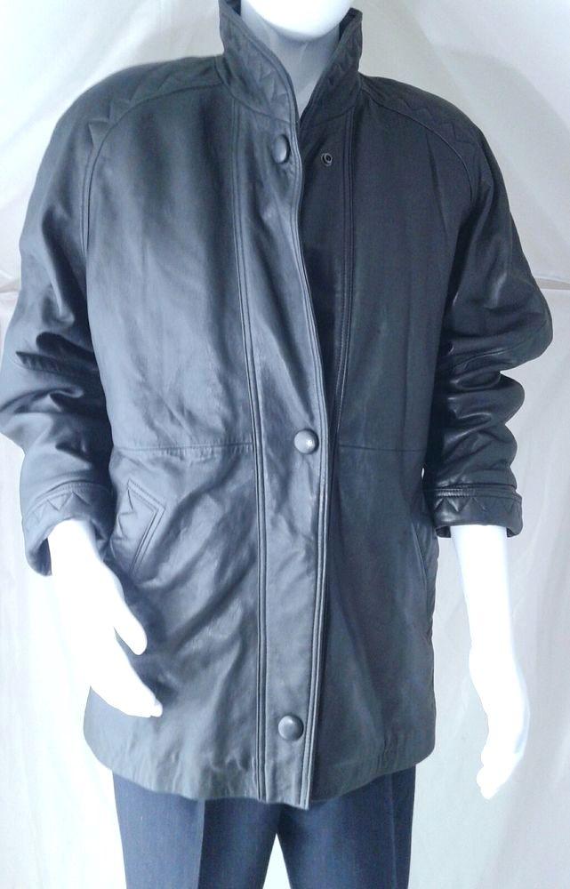 TIBOA Leathers Men's  Leather Jacket Black Leather Jacket ~Retail $289 #TIBOALeathers #BasicJacket