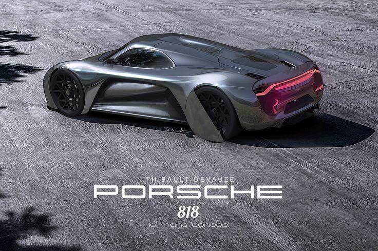 porsche 818 le mans concept porsche 918 spyder. Black Bedroom Furniture Sets. Home Design Ideas