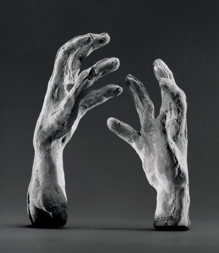 Auguste Rodin / Two Hands / modeled and cast at an unknown date / plaster / The Metropolitan Museum of Art