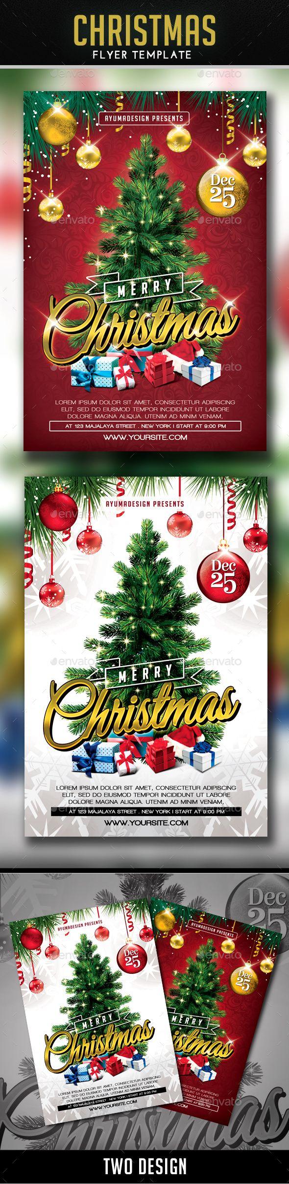 fir letter format%0A Christmas Flyer