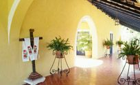 Hacienda Style - I want this color in my house!