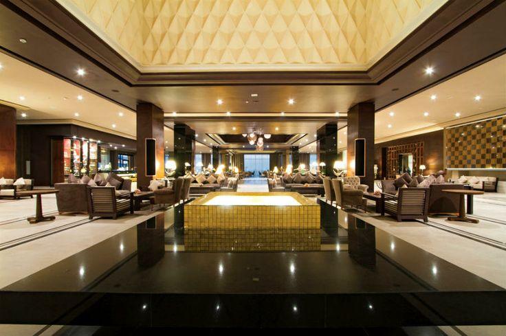 Hotel Riu Palace Tikida Agadir - Hotel in Agadir - Morocco - RIU Hotels & Resorts - luxury lobby - gold