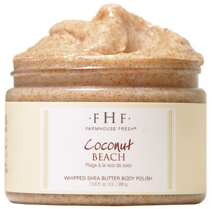 Farmhouse Fresh's Coconut Beach Body Scrub