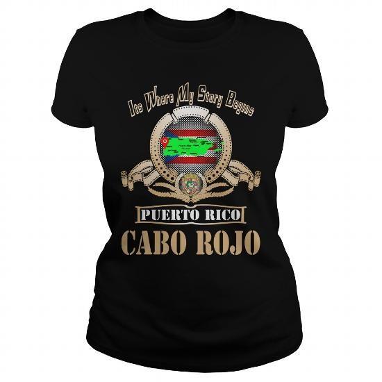 I Love  Cabo Rojo Puerto Rico T shirts
