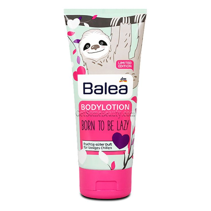 Balea Body Lotion Sloth Born To Be Lazy 200 ml | Get Some Beauty