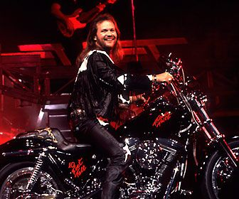 Travis Tritt loves his leather. from Travis Tritt | CMT