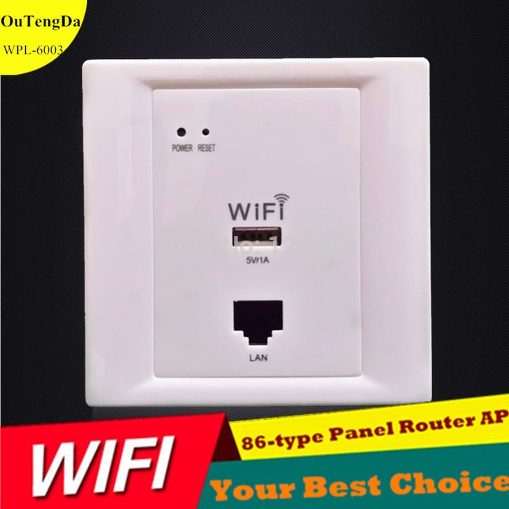802.11n 2.4GHz Soho Roteador Popular In Wall Wireless AP WiFi Router Access Point Support USB RJ45 PoE