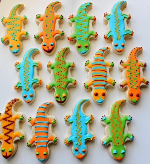 Lizard cookies