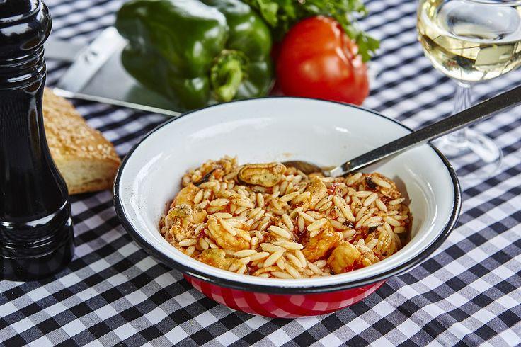 Κριθαρότο με θαλασσινά | Kritharotto with seafood