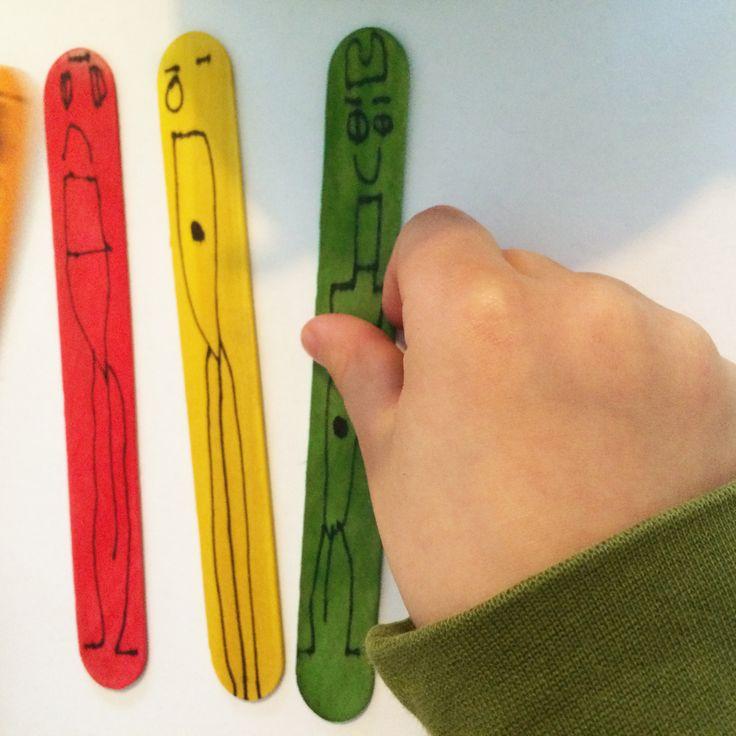 Jäätelötikkuhahmot | askartelu | kesä | käsityöt | kierrätys | summer fun |  DIY ideas | kid crafts | summer | recycling | Pikku Kakkonen