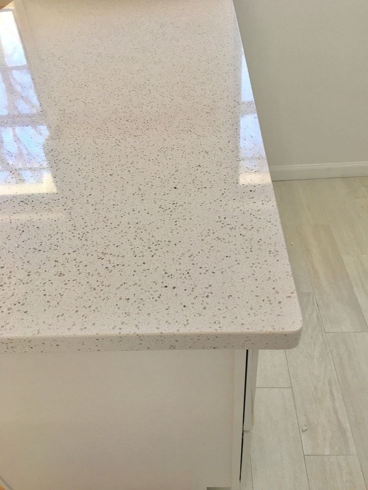 Vashon quartz from allen&roth via Lowes as countertops