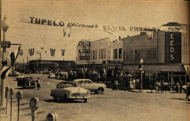 September 26, 1956     Elvis performs at the Mississippi-Alabama Fair and Dairy Show in his hometown of Tupelo, Mississippi.