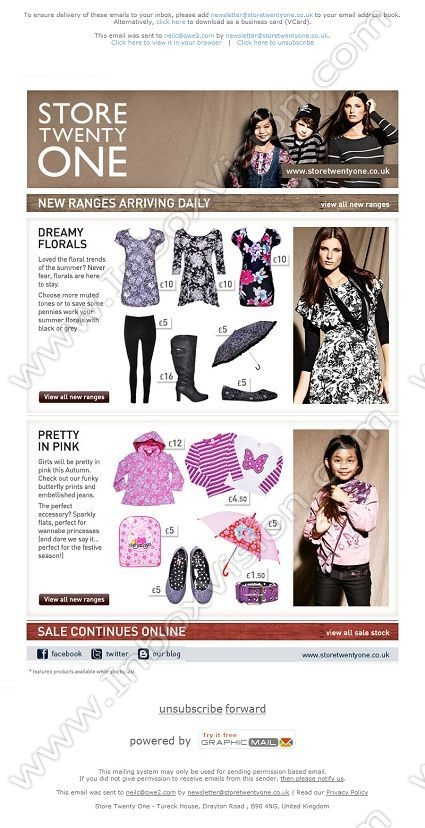 Company:  Store Twenty One Subject:  New Autumn Winter Range Now Available                INBOXVISION providing email design ideas and email marketing intelligence.    www.inboxvision.com/blog/  #EmailMarketing #DigitalMarketing #EmailDesign #EmailTemplate #InboxVision  #SocialMedia #EmailNewsletters