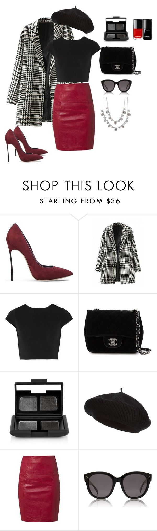 """"" by sonyavanripper ❤ liked on Polyvore featuring Casadei, Alice + Olivia, Chanel, NARS Cosmetics, Harrods, DEPT, CÉLINE and Givenchy"