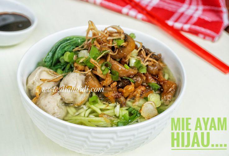 Diah Didi's Kitchen: Mie Hijau