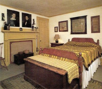 157 best Early American Bedrooms images on Pinterest | Primitive ...
