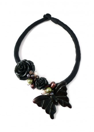 Lagom Butterfly Statement Necklace