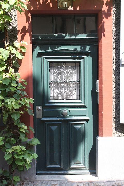 Kapılar, Eski, Ön Kapı, Kapı, Gol, Ahşap, Model, Mavi