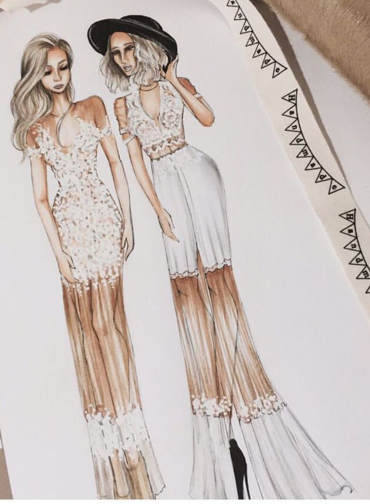412 best images about fashion draw on Pinterest