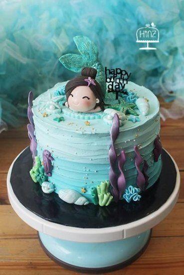 Die besten Ideen für Geburtstagskuchen-Meerjungfrauen – #Geburtstag #Kuchen #Ideen #Mädchen – Birthday Cake Flower Ideen