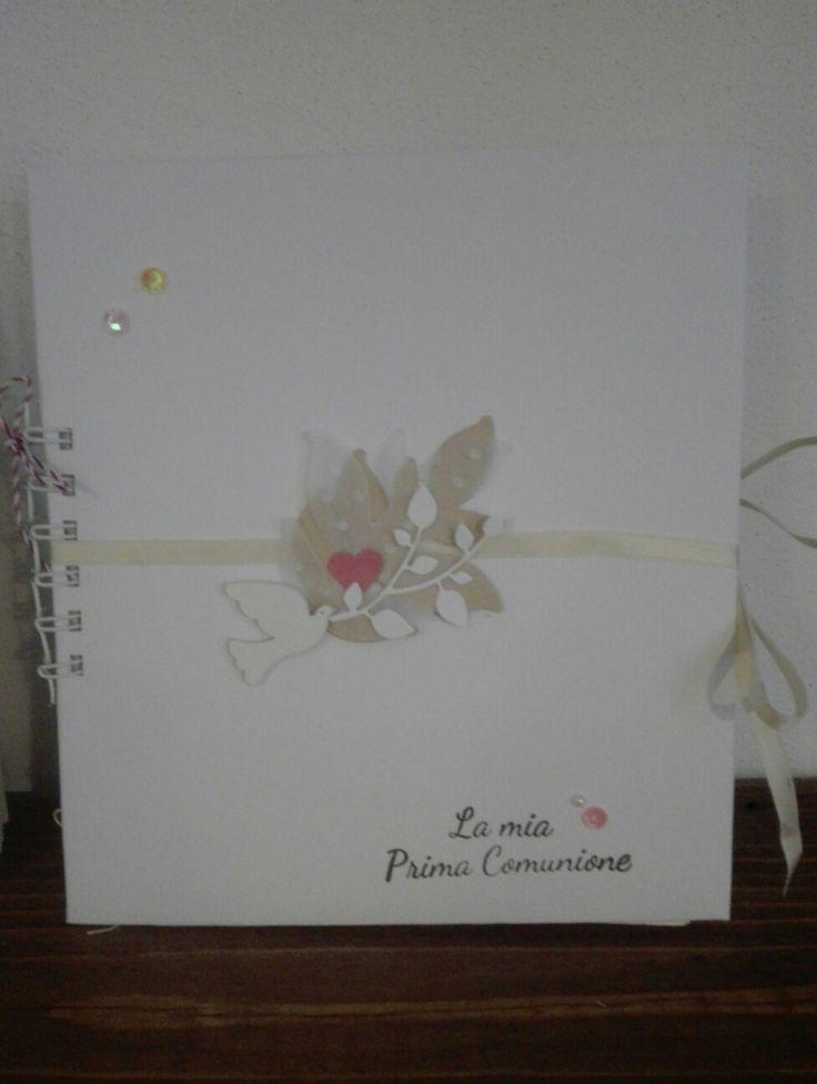 mini album prima comunione