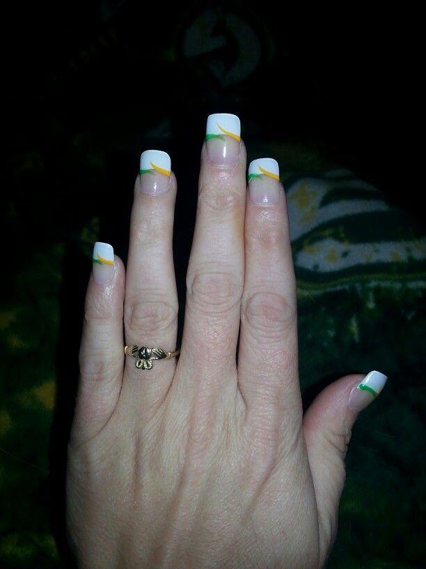 Green Bay Packers nails!