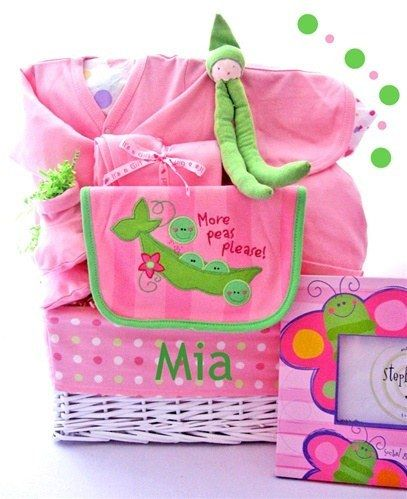 creative baby shower gift ideas images | Baby Shower Gift Basket Ideas – Child Gift Basket Ideas Choosing ...