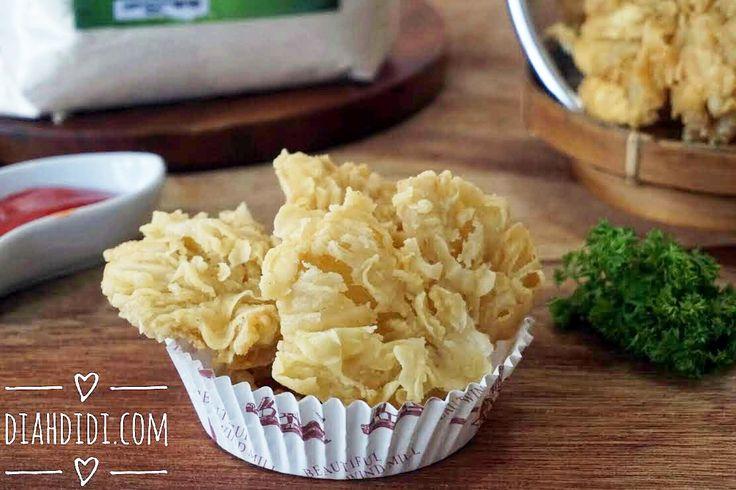 Diah Didi's Kitchen: Jamur Krispi Kipas