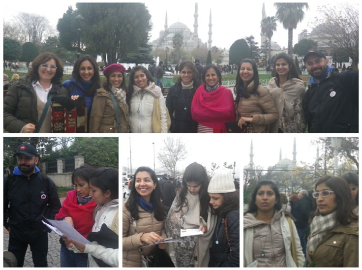 Scavenger Hunt in Istanbul - Sultanahmet Area. We had 7 visitors from India.