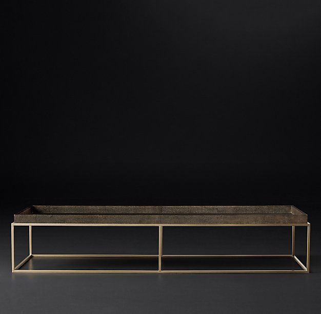 Shagreen Coffee Table Tray: 17 Best Images About Furniture Coffee Table On Pinterest
