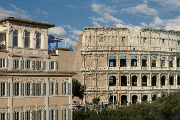 Rome With a View: Closer to the Colosseum Than a Gladiator