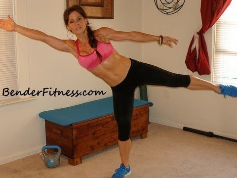 Full Body Real Time Workout 19 minutes: Melissa Bender Great to get you energized!