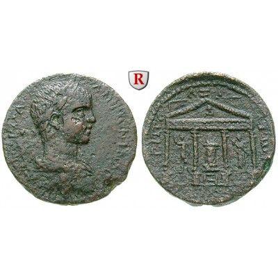 Römische Provinzialprägungen, Phönizien, Tripolis, Elagabal, Bronze, ss: Phönizien, Tripolis. Bronze 26 mm Tripolis. Drapierte und… #coins