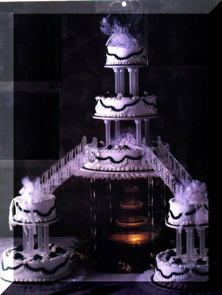 Best 25 Fountain Wedding Cakes Ideas On Pinterest