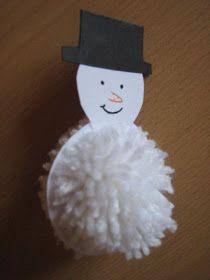 HTB, mert (pénzszűkében) csakis háztartásbeli anyagokból készülnek. 1. rész, mert lesz még több is :) Ehhez a hóemberhez kell fehér és feke...