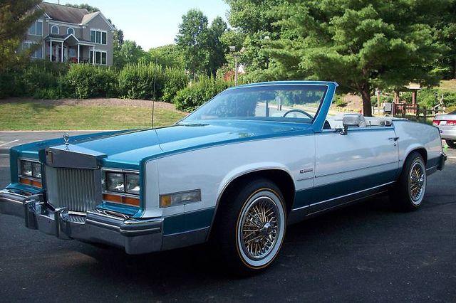 85 Eldorado 1981 Cadillac Eldorado Alpine Convertible