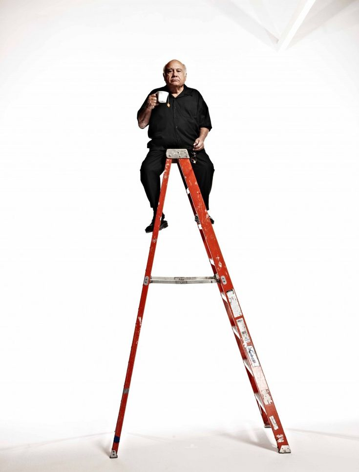 Danny DeVito by Nigel Parry.