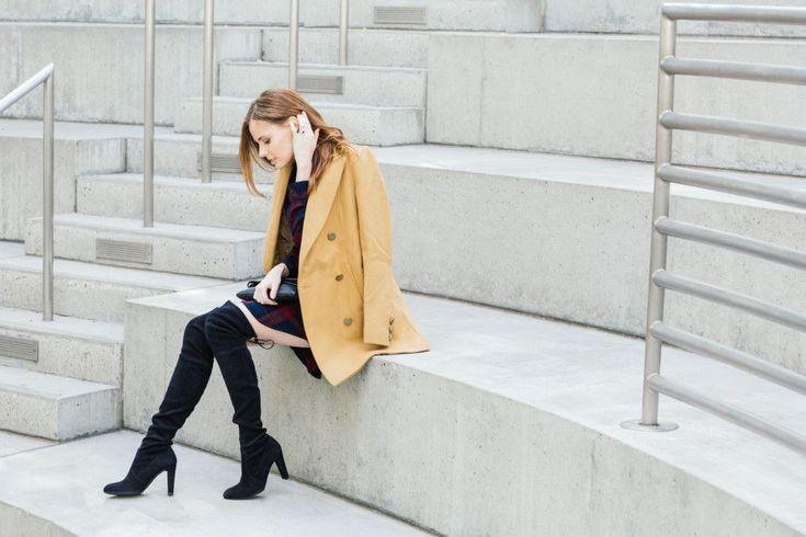 Alyssa Campanella The A List blog Miss USA Rails Nadine Dress Stuart Weitzman Highland Boots #stuartweitzmanhighland